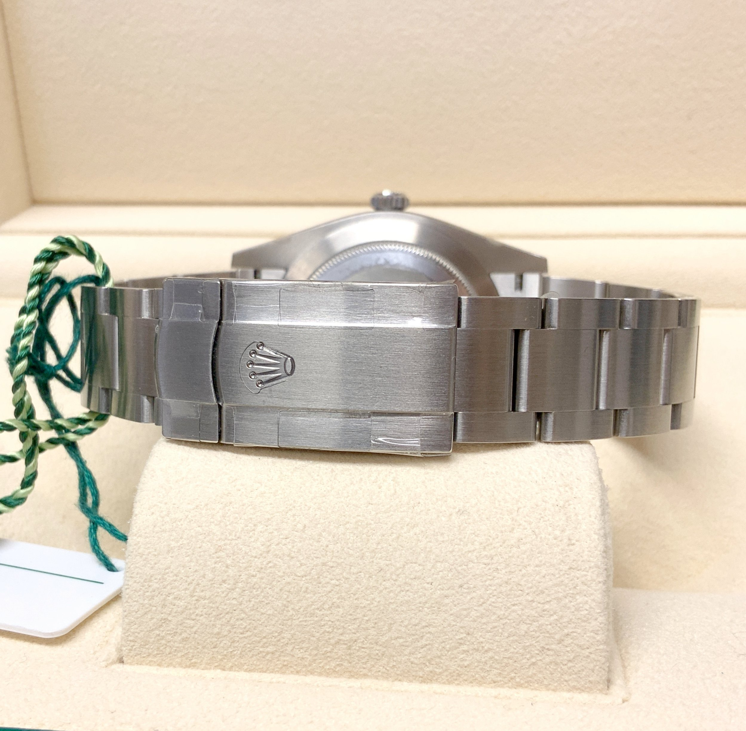 Rolex replica Oyster Perpetual 41 124300 Turquoise Blue 3230 clone movement